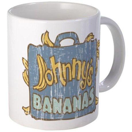 Retro Johnnys Bananas Entourage Mugs on CafePress.com