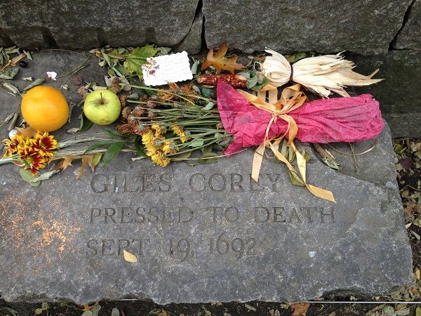 """a brief look at giles corey and the salem witchcraft trials The salem witch trials has been a debatable topic for many that of """"martha and giles corey and in european and colonial witch craft trials the brief."""