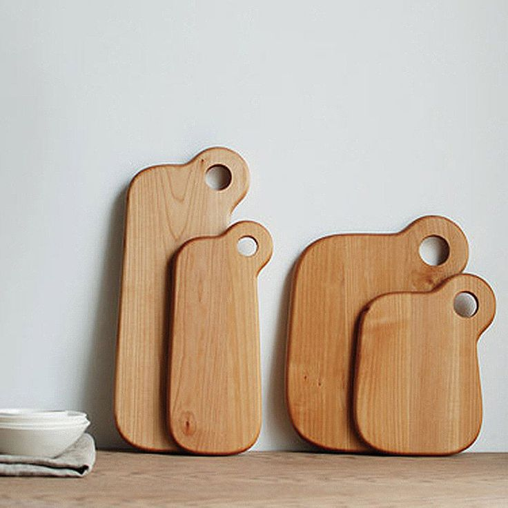 top3 by design - Kinto - baum long chopping board large
