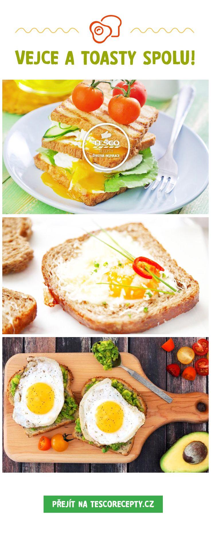 Připravte si k snídani vejce s toasty!