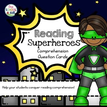 Help your students conquer reading comprehension with these handy cards. This…