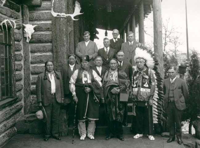 oklahoma indians | Frank Phillips Home - From the Archves