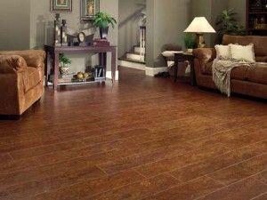 Beautiful Cork Basement Floor