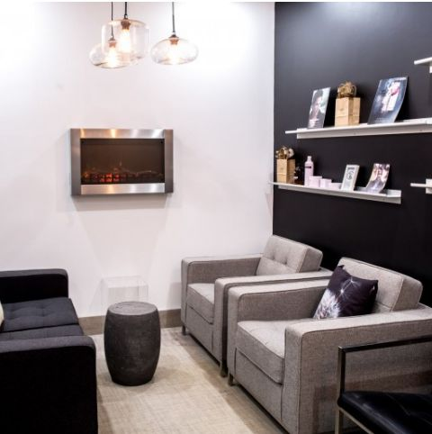 We were delighted to work with this well known spa to transform their nondescript lounge into a modern dynamic, warm and inviting space —…