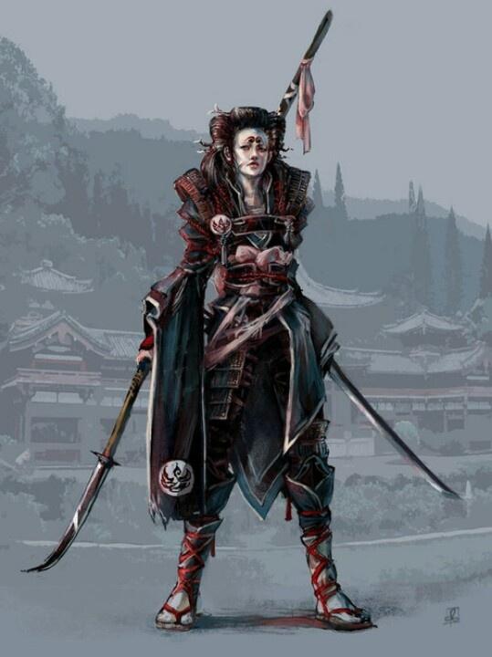 ART: Samurai Inspired (武士触発)