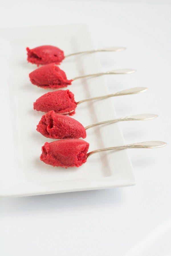 Raspberry Pomegranate Sorbet | Recipe | Sorbet and Pomegranates