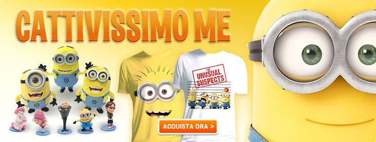 #Gadget #Merchandisingplaza #Abbigliamento #telefilmaddicted #minions #cattivissimome #amazing #tshirt