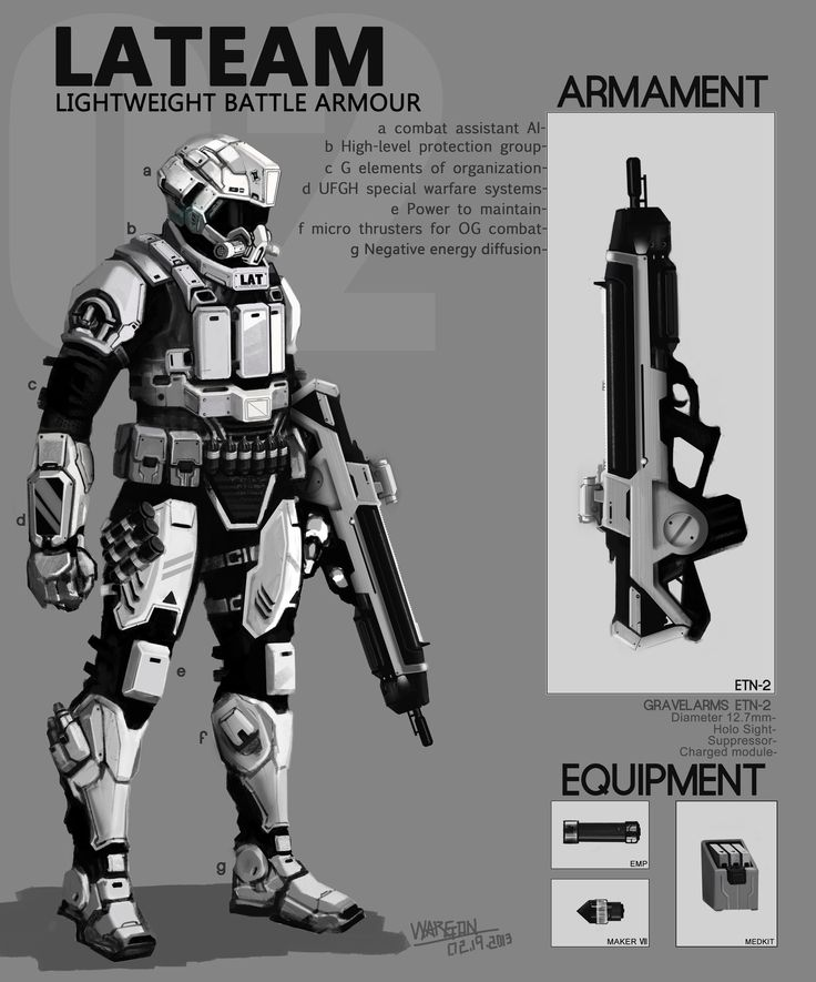 198 Best Science Fiction Battle Armor amp Weaponry Images On