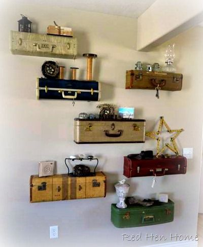 Rather cute, I think. (But I could never find this many neat-looking little suitcases...)