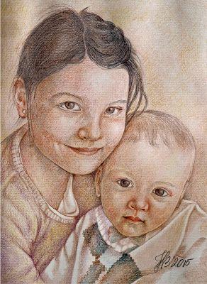 Ogrody Abigaill: Pastelowe portrety