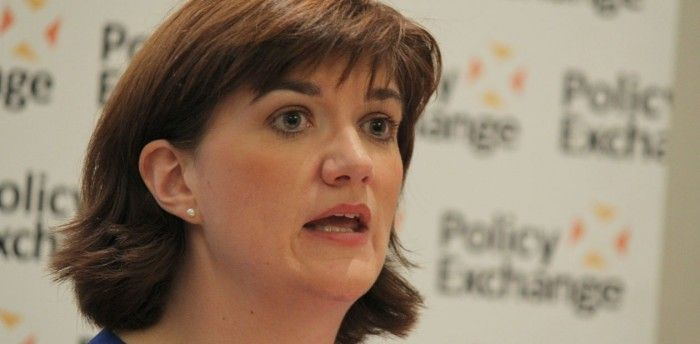 Education secretary Nicky Morgan caused controversy last year with her comments on arts subjects in schools. Photo: Policy Exchange