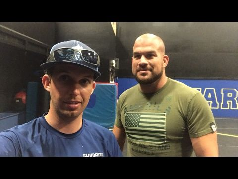 Wrestling Practice with Tito Ortiz and Chris Cyborg - Live
