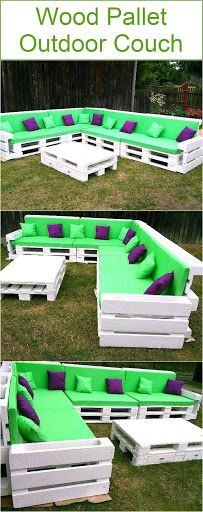 I was just wondering that it has been so long that we didn't work much on some outdoor wooden pallet couches, so we instantly started working on one that we have brought you right here. If we talk …
