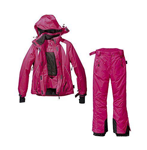#Snowboardanzug Skianzug 2tlg. Funktioneller Snowboardanzug Für Damen Gr. 38M-26 Farbe. PINK Schneeanzug, 00719363666920