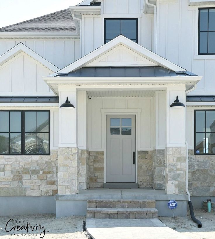 The Images Collection Of Modern Farmhouse Exterior Designs: Best 25+ Modern Farmhouse Exterior Ideas On Pinterest