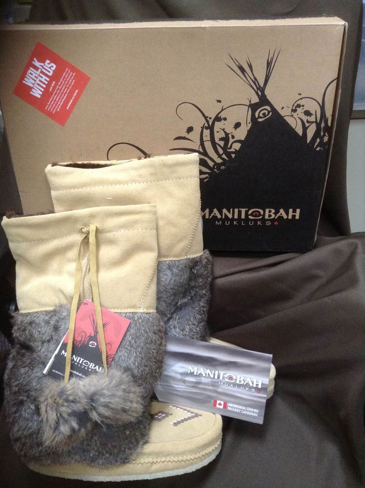 Day 26 of 40 Days of Giveaways. Leather Plus is giving away a pair of size 7, tan, Manitobah Mukluks along with a $40 gift card.