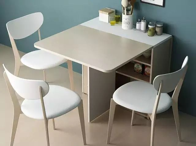 Scalable Folding Table The Rectangular Table Dining Room Sets