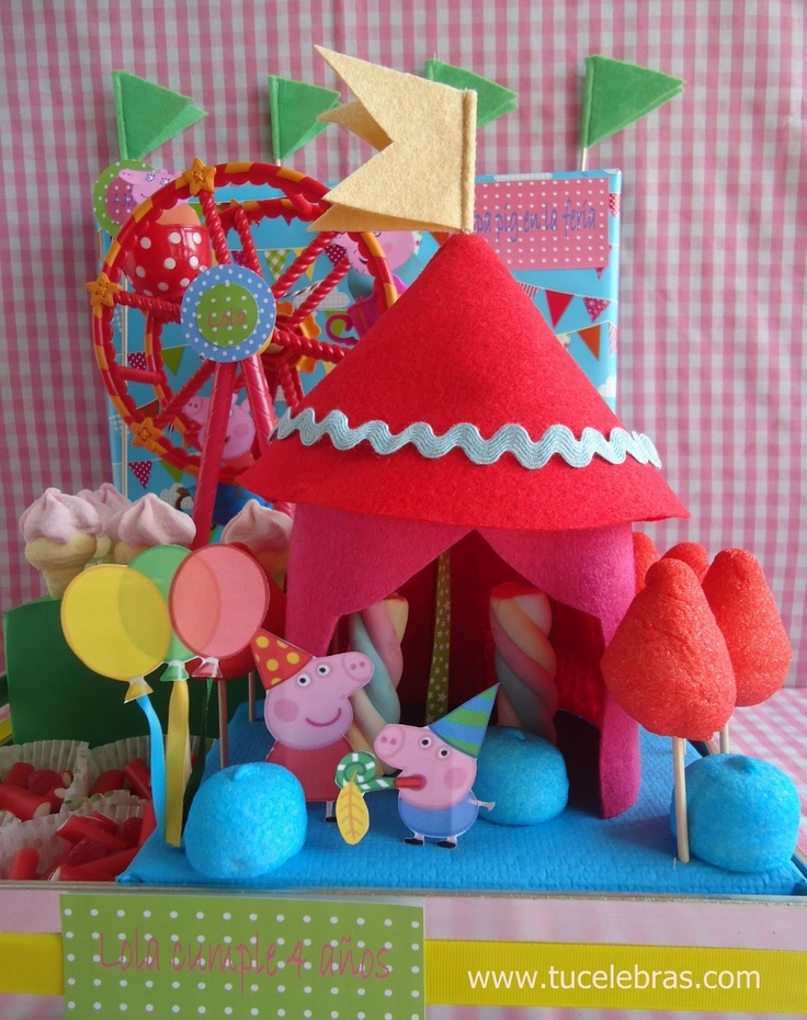 1000 Images About Fiesta Peppa Pig On Pinterest Mesas