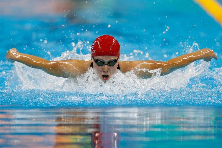 Team GB's silver medalist Siobhan-Marie O'Connor in the womens' 200m individual medley at Rio 2016