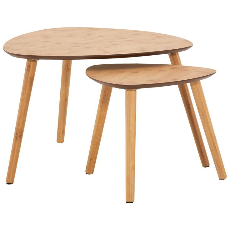 Coffee Table Karby Bamboo Set Of 2 Order Now At Mo Couchtisch Karby Bambus 2er Set Jetzt Bestellen Unter Moebel Lad Coffee Table Table Glass Table