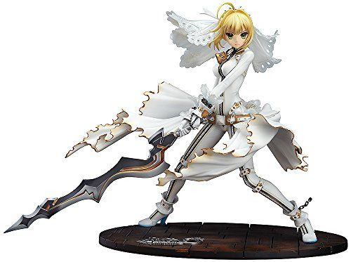 Souyokusha FateExtra CCC Saber Bride PVC Figure Statue >>> Details can be found by clicking on the image.