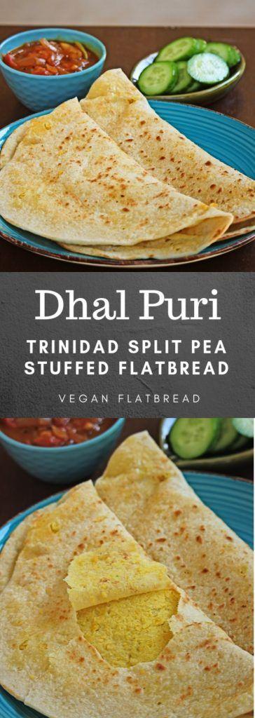 Dhal puri - YouTube   Trinidad Dhal Puri