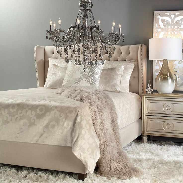Wake Up Here A Generously Luxe Bed Finely Detailed Euro