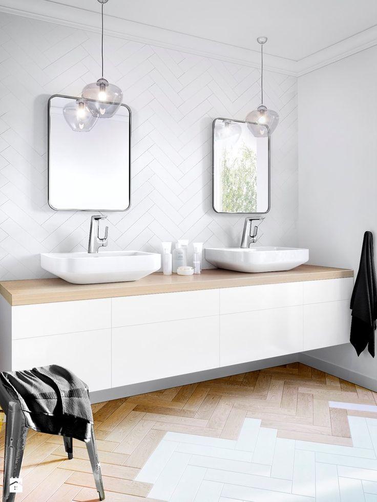 Łazienka styl Skandynawski - zdjęcie od KLUDI - Łazienka - Styl Skandynawski - KLUDI