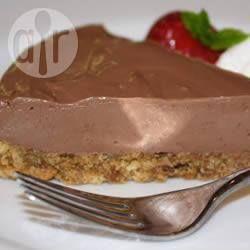 Chocolade cheesecake zonder bakken