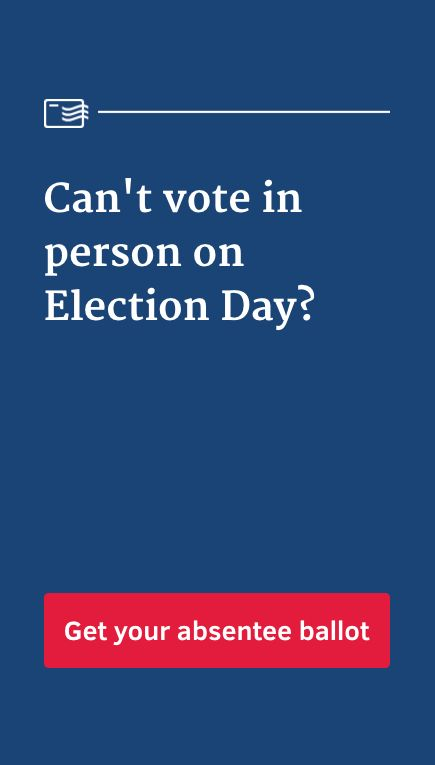 In 2 minutes or less, you can download your ballot application, right here on Pinterest. Tap above to get started. Once you've signed and completed the application, mail it to the address on the cover page. Your application must be received no later than November 1.