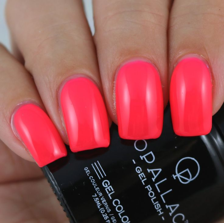 Opallac Gel Polish Go Gaga swatched by Olivia Jade Nails