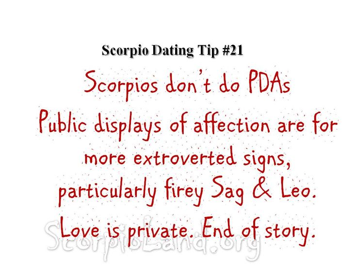 scorpio and leo dating