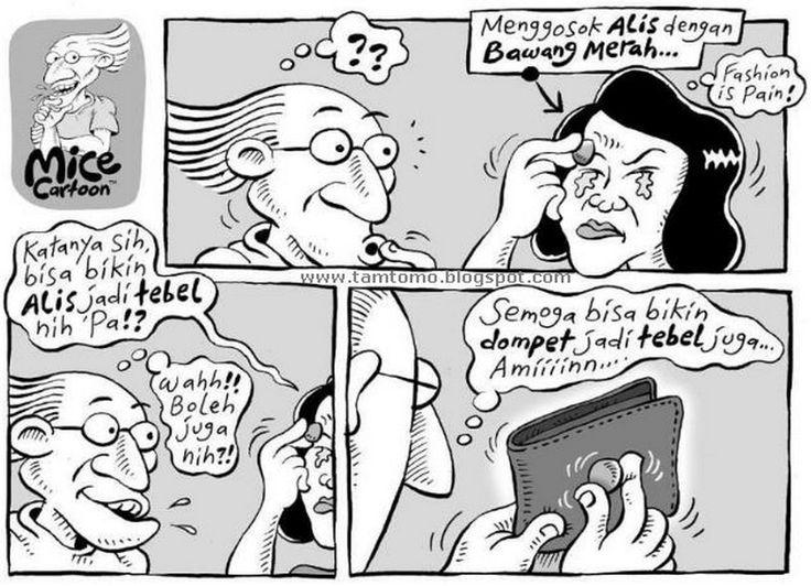 Mice Cartoon, Kompas - 14 Juni 2015: Alis & Bawang