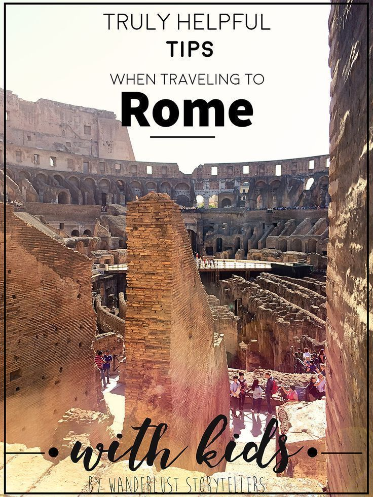 A truly helpful, comprehensive list of tips for each of the major attractions in Rome when you are traveling with your kids in tow! Hop over and read more on our blog. Atractions in the post include Colosseum - Pantheon - Trevi Fountain - Spanish Steps - Knights of Malta Keyhole - Mouth of Truth - Vatican Museum #Rome #TravelwithKids | Rome with Kids | Rome Family Vacation | Rome Travel | Italy with kids | Italy Family Trip | Best Rome Attractions | Things to do in Rome