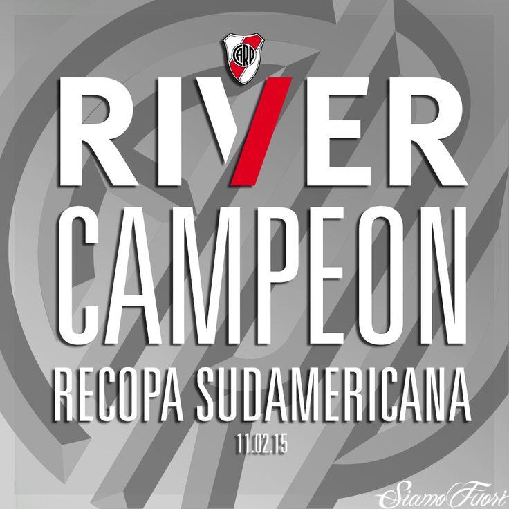 #SIAMOFUTBOL Grande Millo! Siga la cosecha! Campeón ReCopa Sudamericana 2015. http://www.siamofuori.net/