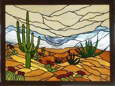 desert stained glass patterns - Google Search