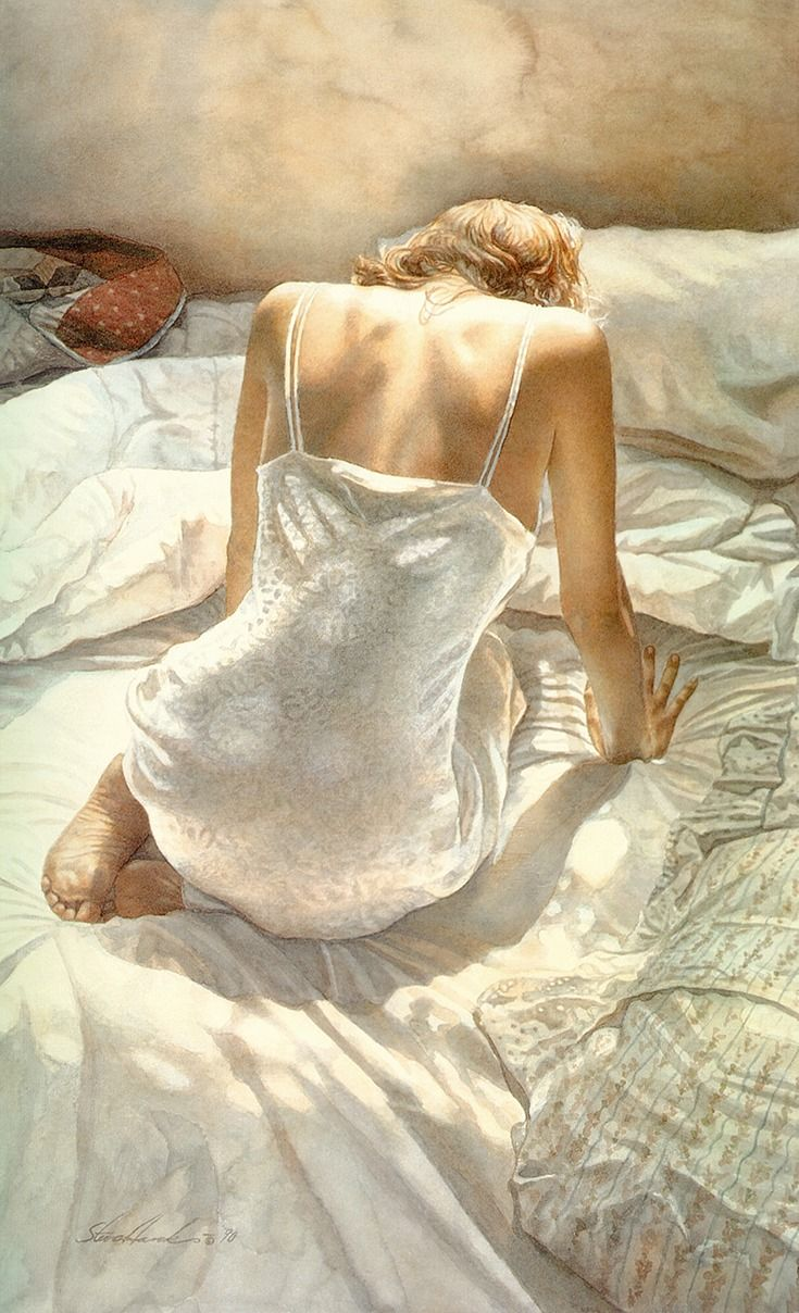 watercolor by Steve Hanks