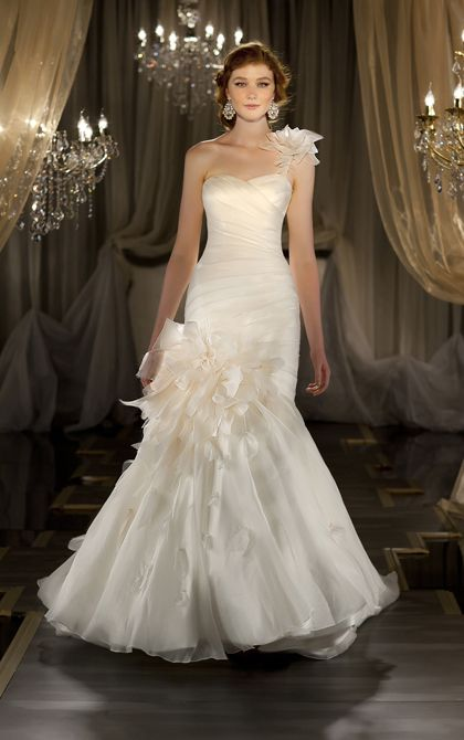 Wedding Dresses: Martina Liana 2013 Collection I could never pull this off, but its beautiful!
