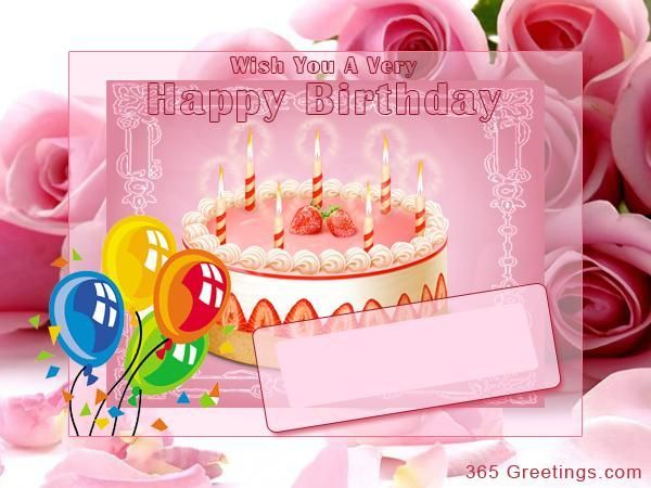 Happy Birthday Wishes, Greetings and Birthday Messages