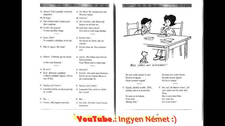 Német Magyar Lecke 16. - You Tube