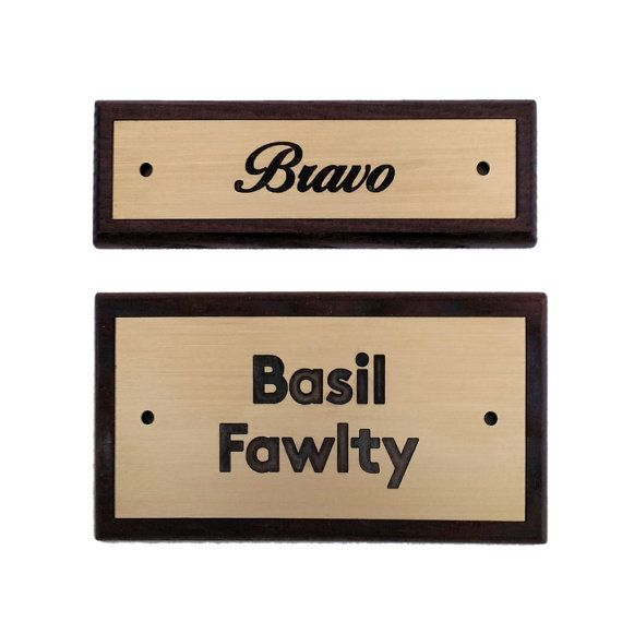17 best ideas about door name plates on pinterest name for Door name signs