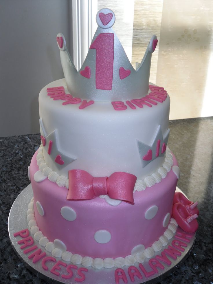 Cake Decorations For 1 Year Old : 3 year old girls birthday cake pictures princess cakes ...