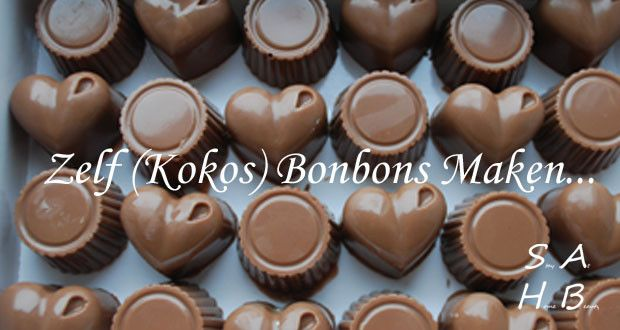 Zelf (Kokos) Bonbons Maken…
