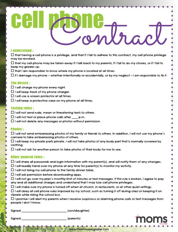 Juicy image for printable teenage chore contract