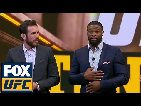 UFC ON FOX: Tyron Woodley will fight Demian Maia for the Welterweight Title | UFC TONIGHT