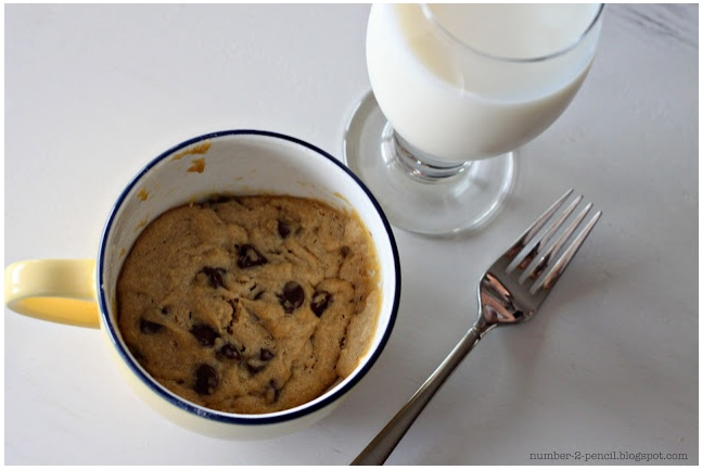 How To Make a Chocolate Chip Cookie In a Cup O-M-G These things are ...