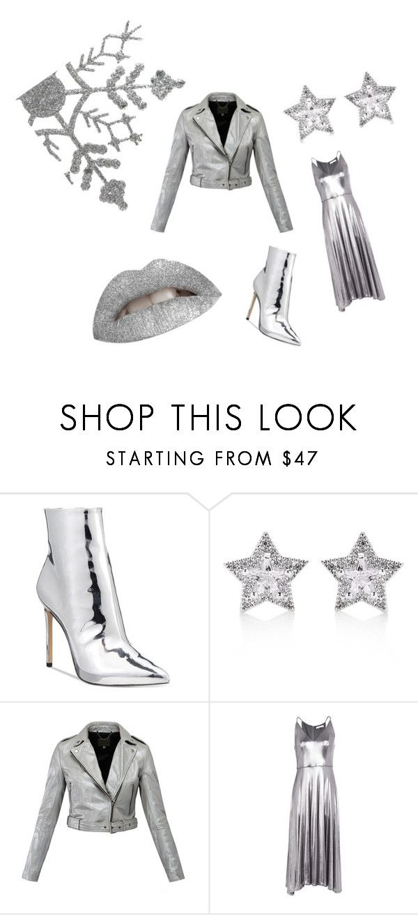 """""""Ice Queen"""" by kelly-pettitt on Polyvore featuring ALDO, CZ by Kenneth Jay Lane, MuuBaa and Halston Heritage"""