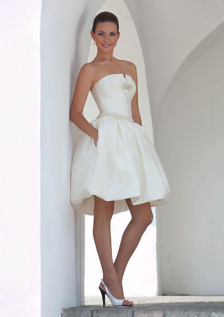 Awesome Beautiful Short Wedding Reception Dress short white dress for wedding reception Styles of Wedding Dresses