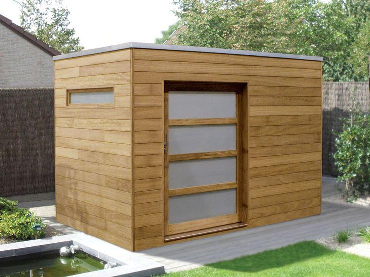 die besten 25 gartenhaus flachdach modern ideen auf. Black Bedroom Furniture Sets. Home Design Ideas