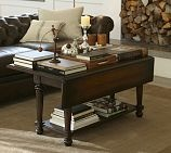 I love the idea of a folding coffee table, but worry about it pinching fingers.